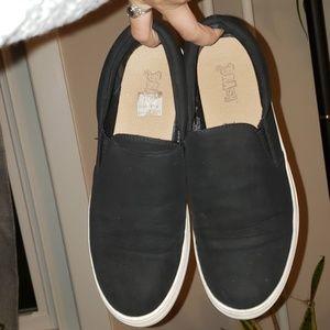 Slip on Velvet sneaker